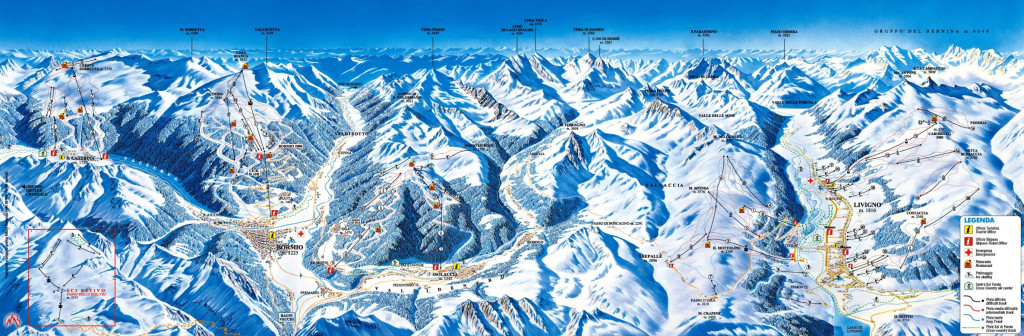 Sjezdovky Alta Valtellina, Bormio
